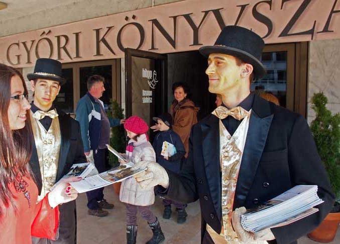 Dedikálási lehetőség a Győri Könyvszalonon