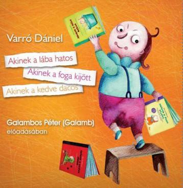 AKINEK A LÁBA HATOS - HANGOSKÖNYV - Ekönyv - VARRÓ DÁNIEL