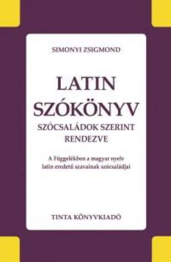LATIN SZÓKÖNYV - Ekönyv - SIMONYI ZSIGMOND