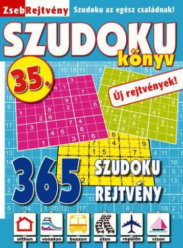 ZSEBREJTVÉNY SZUDOKU KÖNYV 35. - Ekönyv - CSOSCH BT.