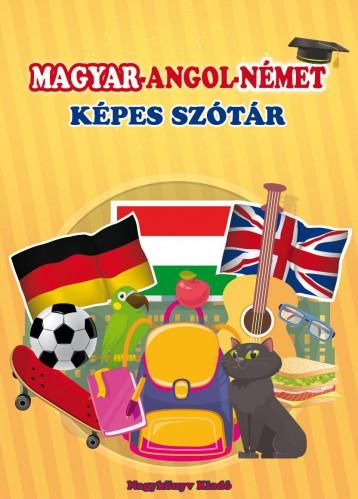 MAGYAR-ANGOL-NÉMET KÉPES SZÓTÁR - Ekönyv - KRAJNIK-BÍRÓ SÁRA
