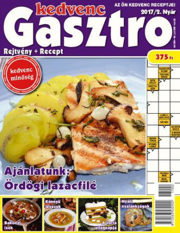 KEDVENC GASZTRO - REJTVÉNY + RECEPT 2017/2. - Ekönyv - CSOSCH BT.