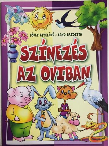 SZÍNEZÉS AZ OVIBAN - Ekönyv - FŐFAI ATTILÁNÉ - LANG BRIGITTA
