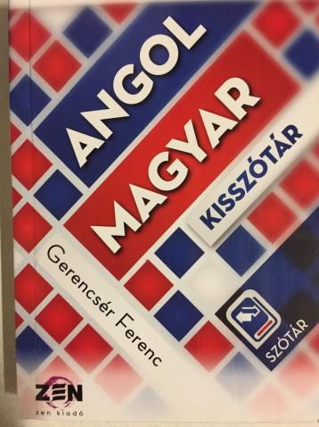 MAGYAR-ANGOL, ANGOL-MAGYAR KISSZÓTÁR - Ekönyv - GERENCSÉR FERENC
