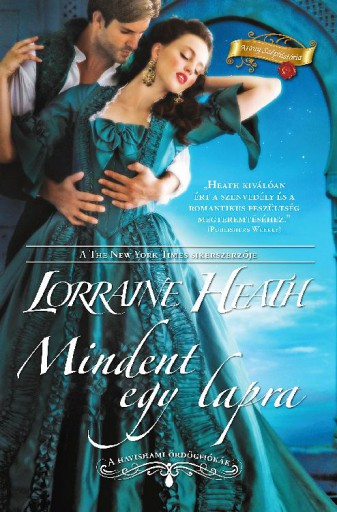 Mindent egy lapra (A havishami ördögfiókák 2.) - Ekönyv - Lorraine  Heath
