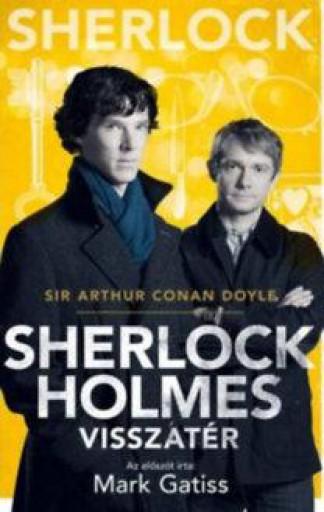 SHERLOCK HOLMES VISSZATÉR - BBC FILMES BORÍTÓ - Ekönyv - DOYLE, ARTHUR CONAN SIR