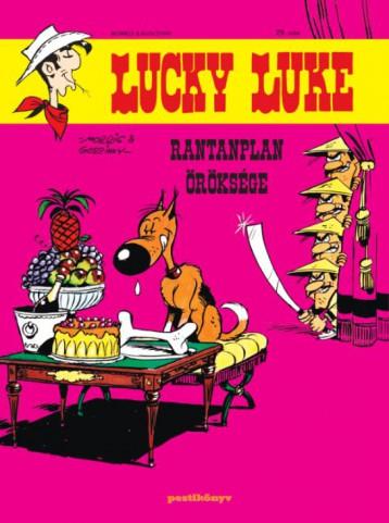 LUCKY LUKE 29. - RANTANPLAN ÖRÖKSÉGE - Ekönyv - GOSCINNY - MORRIS