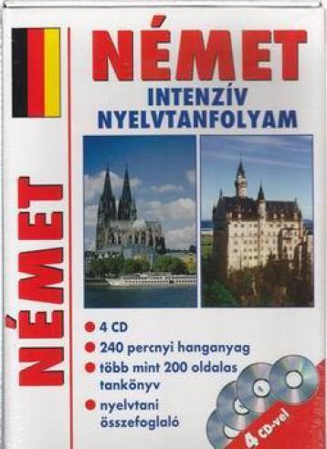 NÉMET INTENZÍV NYELVTANFOLYAM (4 CD MELLÉKLETTEL) - Ekönyv - ALEXANDRA KIADÓ