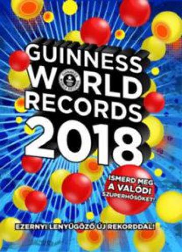 GUINNESS WORLD RECORDS 2018 - Ekönyv - GABO KIADÓ