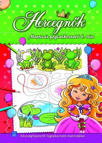 HERCEGNŐK - MATRICÁS FOGLALKOZTATÓ 4. RÉSZ - Ekönyv - AKSJOMAT KIADÓ KFT.