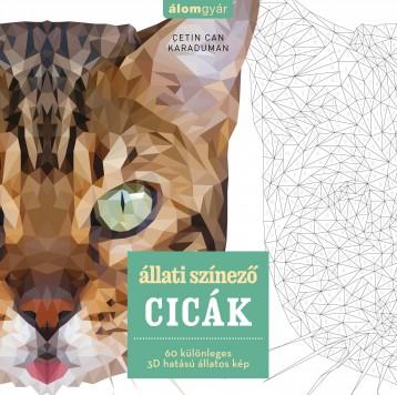 Állati szinező  - CICÁK - Ebook - Cetin Can Karaduman