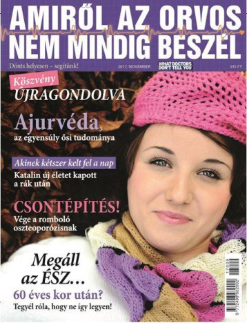 AMIRŐL AZ ORVOS NEM MINDIG BESZÉL - 9. SZÁM, NOVEMBER - Ekönyv - KOSSUTH KIADÓ ZRT.