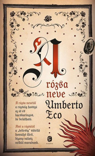 A RÓZSA NEVE - Ebook - ECO, UMBERTO