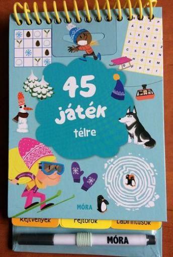45 JÁTÉK TÉLRE - Ekönyv - MÓRA KÖNYVKIADÓ