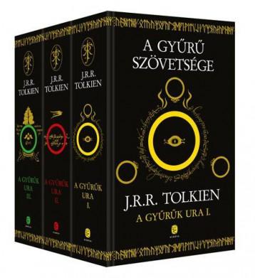 A GYŰRŰK URA I-III. (ÚJ, FEKETE-ARANY) - Ekönyv - TOLKIEN, J. R. R.