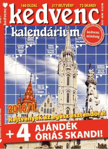 KEDVENC KALENDÁRIUM 2018/1 - Ekönyv - CSOSCH KFT.