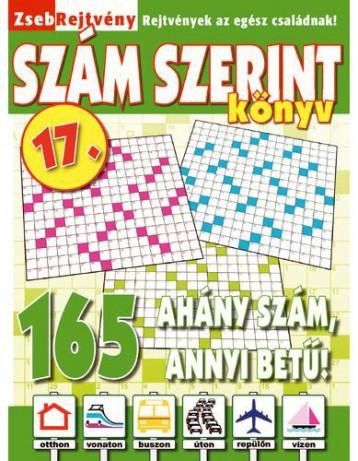 ZSEBREJTVÉNY SZÁM SZERINT KÖNYV 17. - Ekönyv - CSOSCH KFT.