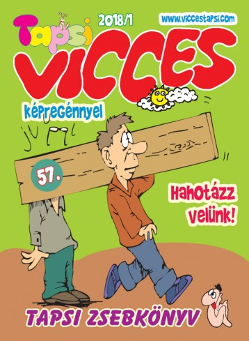 VICCES TAPSI - 2018/1. - Ekönyv - LAPU BT.