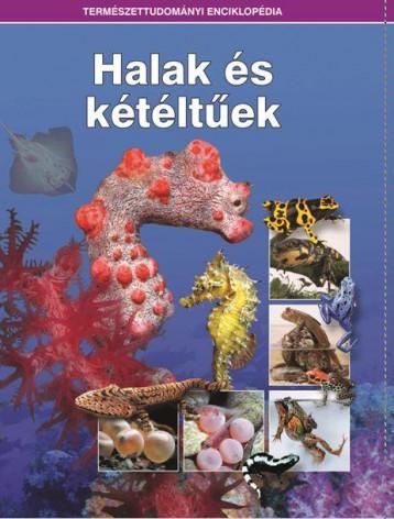 HALAK ÉS KÉTÉLTŰEK - TERMÉSZETTUDOMÁNYI ENCIKLOPÉDIA - Ekönyv - KOSSUTH KIADÓ ZRT.