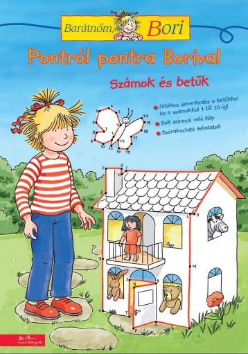 PONTRÓL PONTRA BORIVAL - BARÁTNŐM BORI FOGLALKOZTATÓ - Ekönyv - MANÓ KÖNYVEK