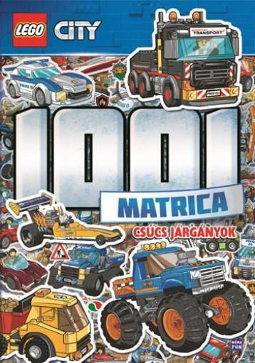 LEGO CITY - CSÚCS JÁRGÁNYOK 1001 MATRICA - Ekönyv - MÓRA KÖNYVKIADÓ