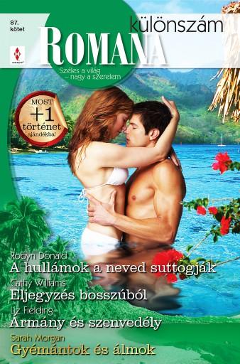 Romana különszám 87. kötet - Ekönyv - Robyn Donald, Cathy Williams, Liz Fielding, Sarah Morgan