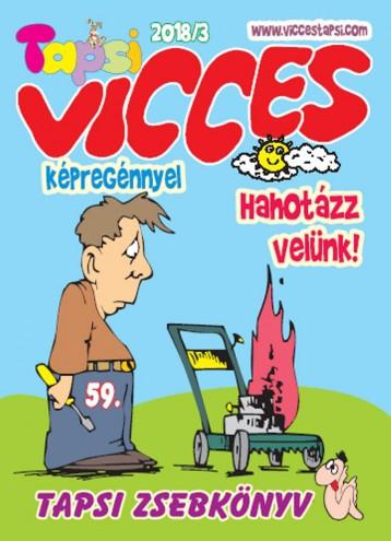 VICCES TAPSI - 2018/3. - Ekönyv - LAPU BT.