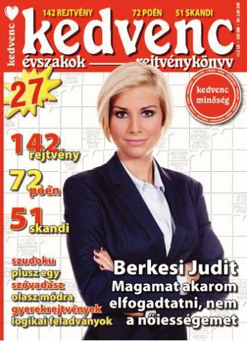 KEDVENC ÉVSZAKOK REJTVÉNYKÖNYV 27. - Ekönyv - CSOSCH BT.