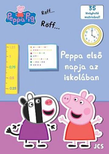 PEPPA MALAC - PEPPA ELSŐ NAPJA AZ ISKOLÁBAN - Ekönyv - -