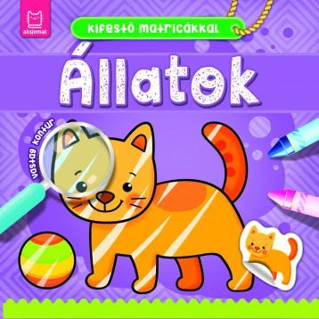 ÁLLATOK - KIFESTŐ MATRICÁKKAL - Ekönyv - ANNA PODGÓRSKA