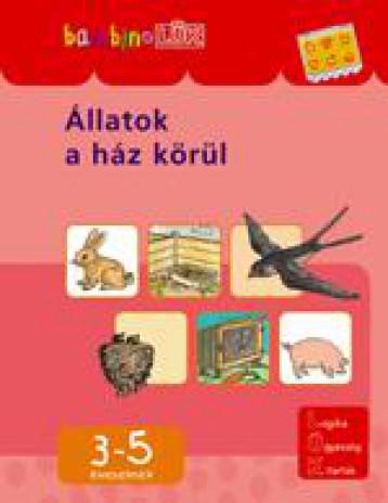 ÁLLATOK A HÁZ KÖRÜL (BAMBINOLÜK) - Ekönyv - LDI-106