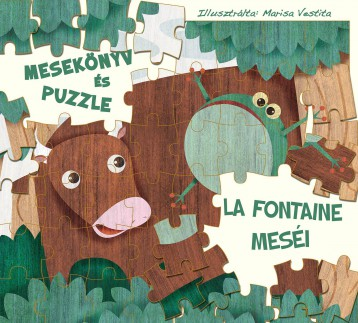LA FONTAINE MESÉI - MESEKÖNYV ÉS PUZZLE - Ekönyv - WHITE STAR KIDS
