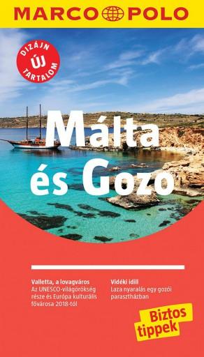 MÁLTA ÉS GOZO - MARCO POLO - ÚJ TARTALOMMAL! - Ekönyv - CORVINA KIADÓ