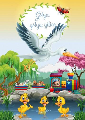 GÓLYA, GÓLYA, GILICE - Ekönyv - KRAJNIK-BÍRÓ SÁRA