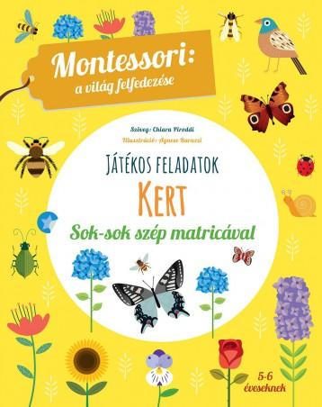 JÁTÉKOS FELADATOK - KERT - Ekönyv - MONTESSORI, MARIA