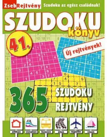 ZSEBREJTVÉNY SZUDOKU KÖNYV 41. - Ekönyv - CSOSCH KFT.