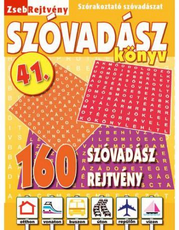 ZSEBREJTVÉNY SZÓVADÁSZ KÖNYV 41. - Ekönyv - CSOSCH KFT.