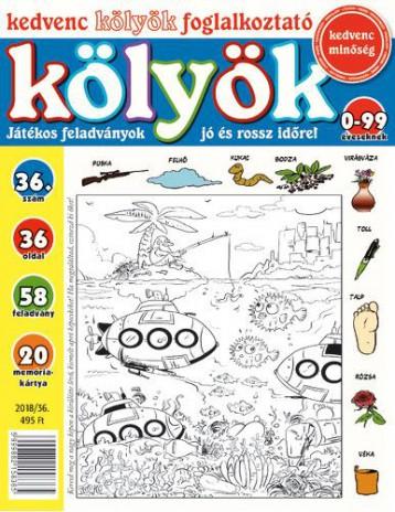 KEDVENC KÖLYÖK FOGLALKOZTATÓ 36. - Ekönyv - CSOSCH KFT.
