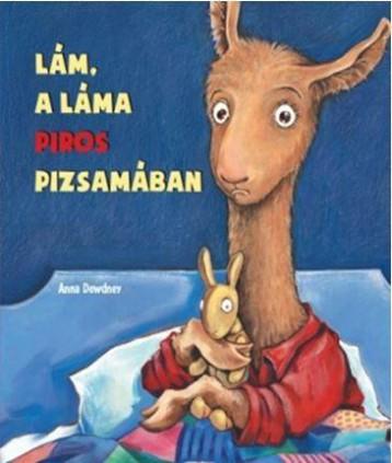 LÁM, A LÁMA PIROS PIZSAMÁBAN - Ekönyv - DEWDNEY, ANNA