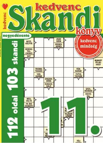 KEDVENC SKANDI KÖNYV 11. - Ekönyv - CSOSCH KFT.