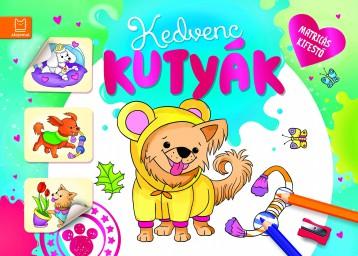 KEDVENC KUTYÁK - MATRICÁS KIFESTŐ - Ekönyv - AKSJOMAT KIADÓ KFT.
