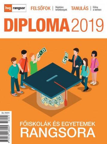 DIPLOMA 2019 - FŐISKOLÁK ÉS EGYETEMEK RANGSORA - Ebook - HVG KÖNYVEK