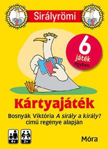 SIRÁLY RÖMI (KÁRTYA) + REJTVÉNYFÜZET - Ekönyv - BOSNYÁK VIKTÓRIA