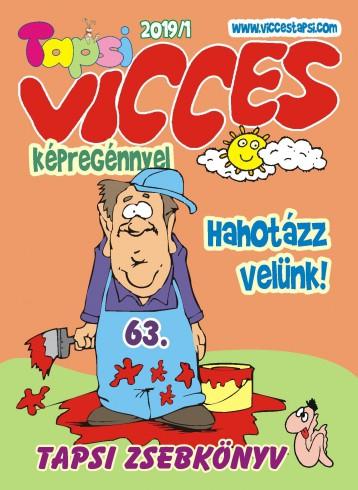 VICCES TAPSI 2019/1 - Ekönyv - LAPU BT.