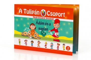 A TULIPÁN CSOPORT - ÁDÁM ÉS A PAPLAN - Ebook - SZABÓ ÁGNES