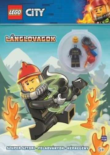 LEGO CITY LÁNGLOVAGOK - AJÁNDÉK TŰZOLTÓ MINIFIGURÁVAL - Ekönyv - MÓRA KÖNYVKIADÓ