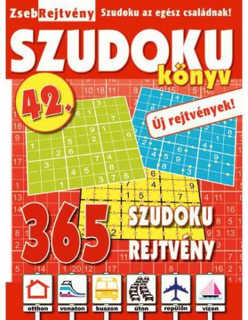 ZSEBREJTVÉNY SZUDOKU KÖNYV 42. - Ekönyv - CSOSCH KFT.