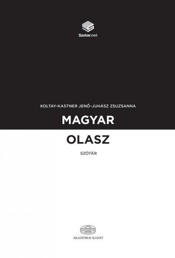 MAGYAR-OLASZ SZÓTÁR + ONLINE SZÓTÁRCSOMAG - Ekönyv - KOLTAY-KASTNER JENŐ - JUHÁSZ ZSUZSANNA
