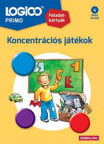 LOGICO PRIMO - KONCENTRÁCIÓS JÁTÉKOK - Ekönyv - TESSLOFF ÉS BABILON KIADÓI KFT.