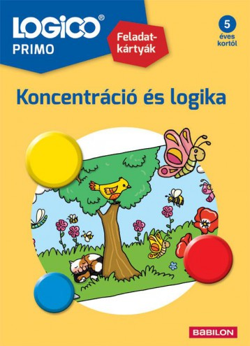 LOGICO PRIMO - KONCENTRÁCIÓ ÉS LOGIKA - Ekönyv - TESSLOFF ÉS BABILON KIADÓI KFT.